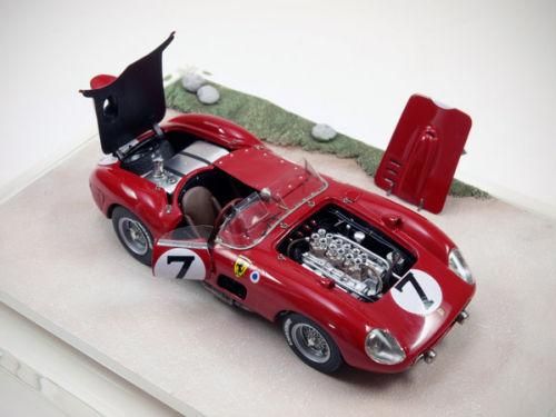 Steve Barnett Model Cars Ferrari 335s Le Mans 1957