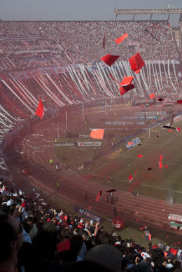 River Plate v Boca Junior, El Monumental