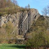 BELGIUM - Rockface near Restigne