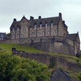 Castle - Edinburgh Castle (from the north)