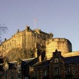 Castle - Edinburgh Castle (from the south)