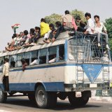INDIA - 'All Aboard' being taken too literally