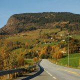 NORWAY - Autumn Highway near Voss