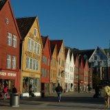 NORWAY - Bryggen, a World Heritage Site, Bergen, Norway