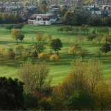SCOTLAND - Prestonfield Golf Course from Arthur's Seat, Edinburgh