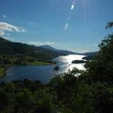 SCOTLAND - The Queen's View of Loch Tummel, Perthshire (Upright)