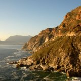 SOUTH AFRICA - Chapmans Peak Drive, Cape Town towards Hout Bay
