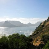SOUTH AFRICA - Hout Bay from Chapmans Peak Drive, Cape Town