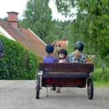 SWEDEN - Children on a Cart