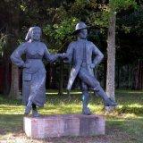 Statue - Dancing Statues near Trollhattan, Sweden