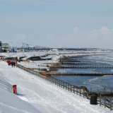 Winter - Aberdeen Beach under snow