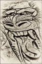 """Tiger Sand Pattern"""