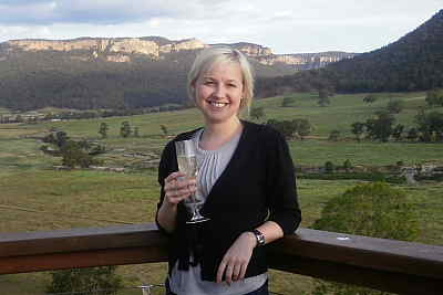 Sundowners in the Blue Mountains