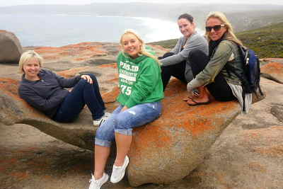 Enjoying Kangaroo Island