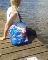 'Cosmic' design beach bag