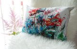 'Precious summer' rectangular cushion