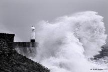 Porthcawl storm surge