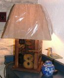 Lexigraph Lamp 31 x 25 x 25 cm £295