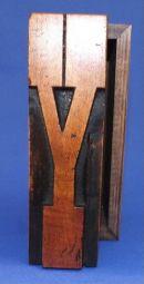 Y Box 062 5 x 15cm £45