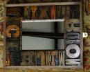 Lexigraph Alphabet Mirror (B) 47 x 39 £200