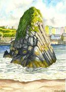 Goskar Rock - North Beach, Tenby, Pembrokeshire