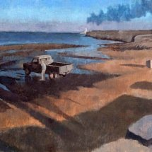 North Gare, oil on board (sold)