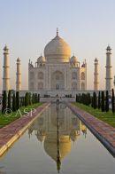 Taj Mahal - Front View Reflection