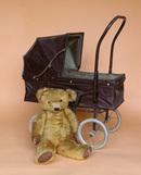 Vintage Pram & Teddy
