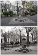 Albion Square 2011 & 1987
