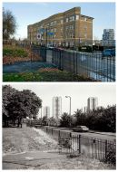Cadogan Terrace 2011 & 1986 updated