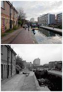 Acton's Lock Jan 2013 & 1985