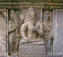 Prambanan stone carving