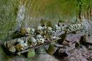 Torajan burial cave