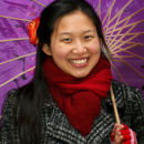 Female Chinese Street Seller