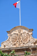 The Maltese Flag with the George Cross