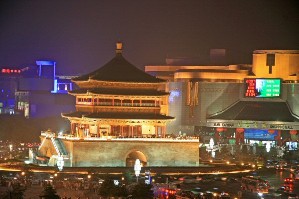 The Drum Tower, Xian