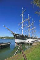 Pommern windjammer, Mariehamn, Aland Islands