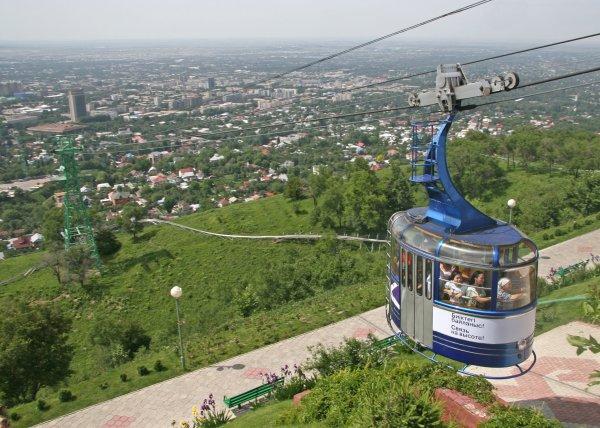 Almaty view, Kazakhastan