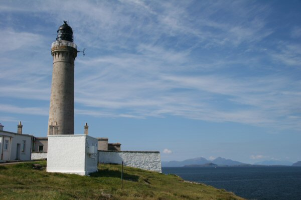 Ardnamurchan Point, most westerly point in mainland Britain