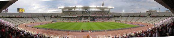 Olympic Stadium, Barcelona, Spain (2nd visit)