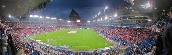 St Jacob's Stadium, Basel. Switzerland (1) v England (3)