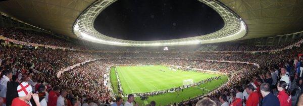 Green Point Stadium, Cape Town, South Africa - England (0) v Algeria (0)