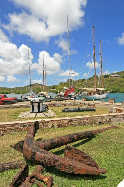 Antigua, Nelson's Harbour boats