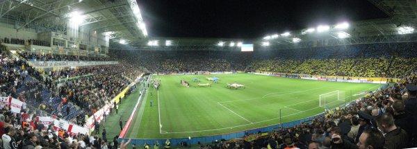 Dnepro Stadium, Dniepropetrovsk,  Ukraine