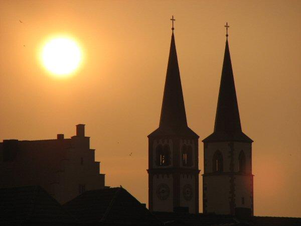 Wurzburg sunset