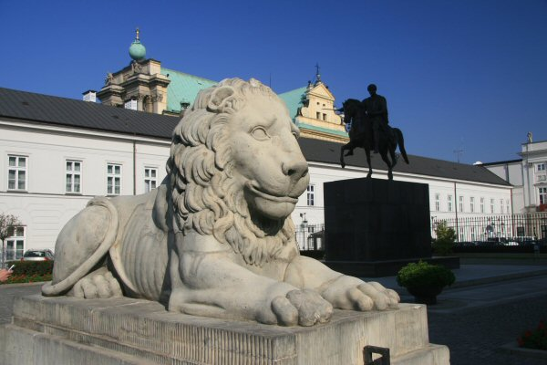 Lion on the Royal Route, Warsaw
