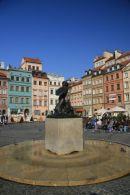 Mermaid Statue, The Rynek, Warsaw
