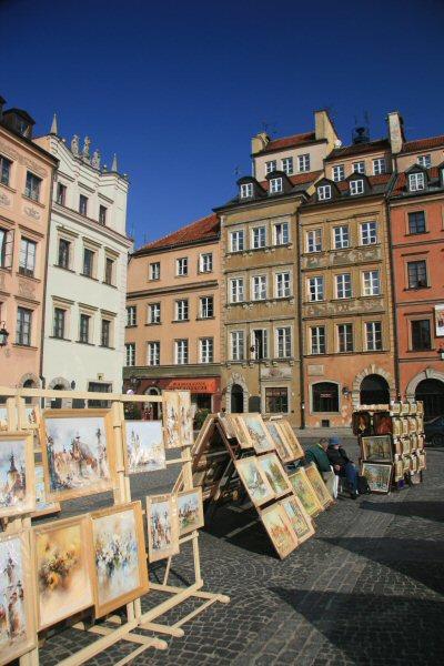 The Rynek, Warsaw