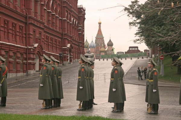 Russian Soldiers near Red square, Moscow