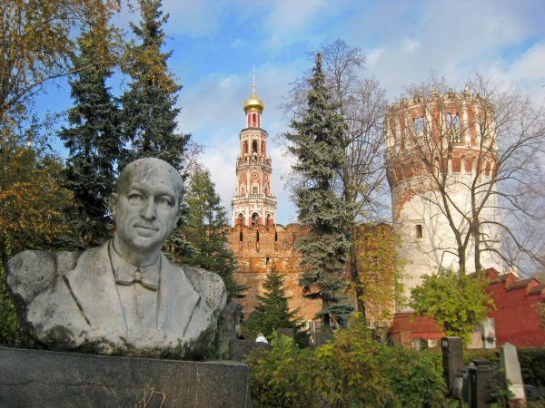 Novodevichiy Cemetery, Moscow